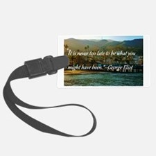 Catalina Pier w/Quote Luggage Tag