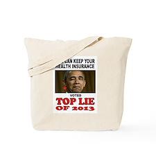 TOP LIAR OBAMA Tote Bag