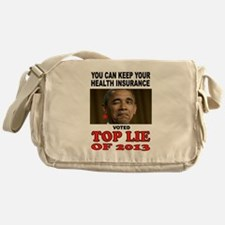 TOP LIAR OBAMA Messenger Bag