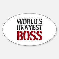 Worlds Okayest Boss Decal
