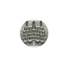 Tiered Castle Mini Button (10 pack)