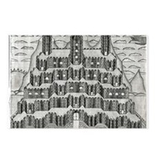 Tiered Castle Postcards (Package of 8)
