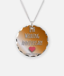 8th Wedding Anniversary Necklace