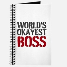 Worlds Okayest Boss Journal