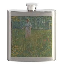 Van Gogh Art  Flask