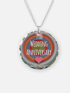 9th Wedding Anniversary Necklace