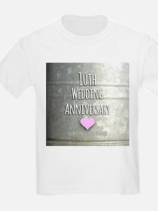 10th Wedding Anniversary T-Shirt