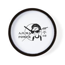 Ajuma Power Wall Clock