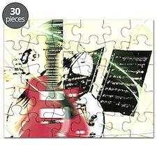 Guitar Instruments Music Puzzle