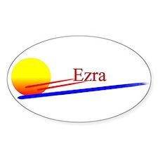 Ezra Oval Decal