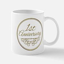 1st Anniversary Mugs