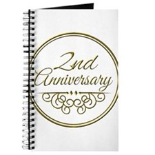 2nd Anniversary Journal