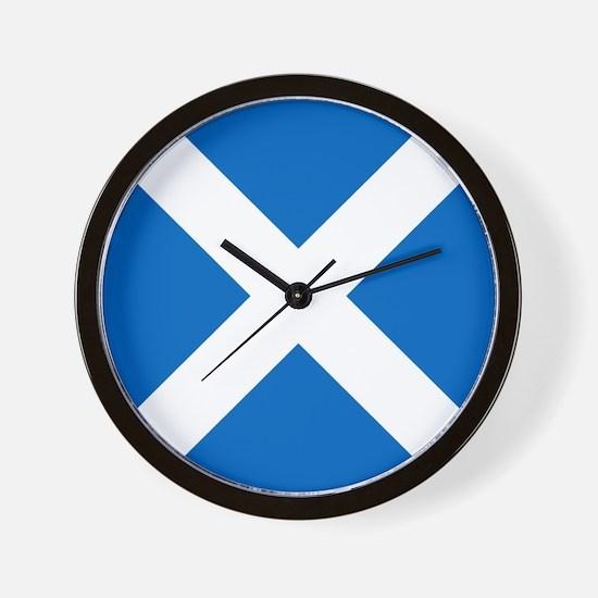 Team Scotland Saltire Wall Clock