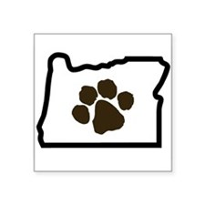 Paw Oregon Sticker