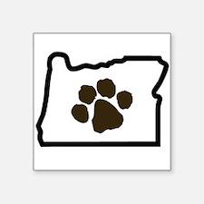 Paw Oregon Sticker