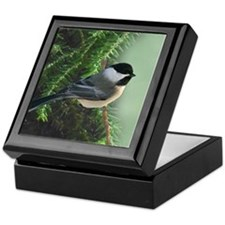 Keepsake Box With GFHW Chickadee