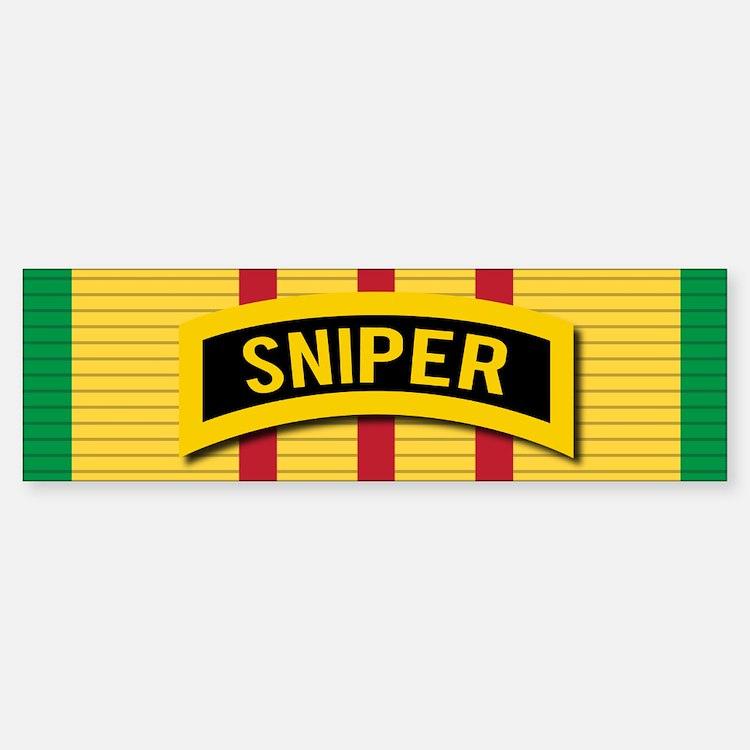 Sniper Vietnam Bumper Bumper Bumper Sticker