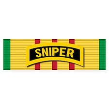 Sniper Vietnam Bumper Bumper Sticker