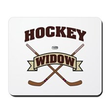 Hockey Widow Mousepad