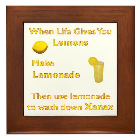 Lemonx Framed Tile