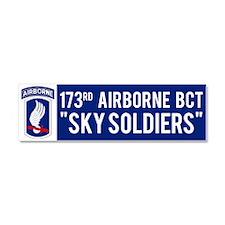 173rd Airborne BCT Car Magnet 10 x 3