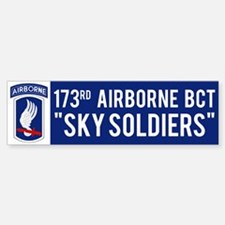 173rd Airborne BCT Bumper Bumper Bumper Sticker