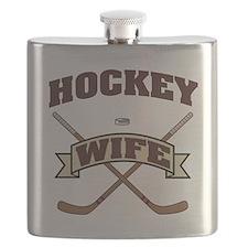 Hockey Wife Flask