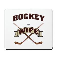 Hockey Wife Mousepad