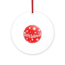 Merry Keshmish Ornament (Round)
