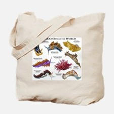 Nudibrachs of the World Tote Bag