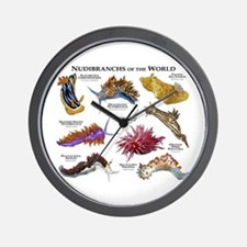 Nudibrachs of the World Wall Clock