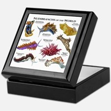 Nudibrachs of the World Keepsake Box