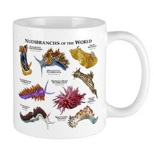 Nudibrachs of the World Small Mug