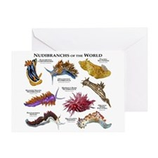Nudibrachs of the World Greeting Card