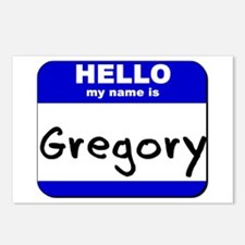 hello my name is gregory  Postcards (Package of 8)