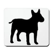 Bull Terrier Silhouette Mousepad