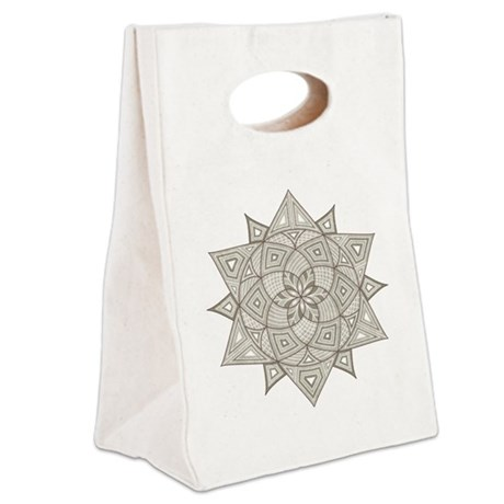 Rangoli Canvas Lunch Tote