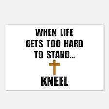Kneel Postcards (Package of 8)