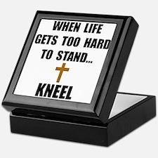 Kneel Keepsake Box