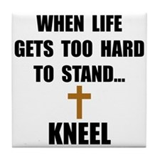 Kneel Tile Coaster