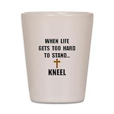 Kneel Shot Glass