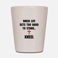 Kneel Shot Glass