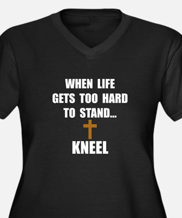 Kneel Plus Size T-Shirt