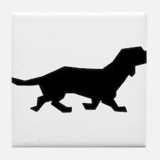 Doxen Silhouette Tile Coaster