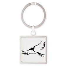 Gluten-Free Bird Soaring Keychains