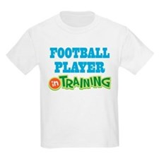Football Player in training T-Shirt