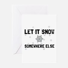 Let It Snow Greeting Cards