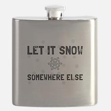 Let It Snow Flask