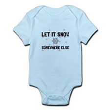 Let It Snow Body Suit