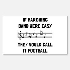 Marching Band Easy Decal